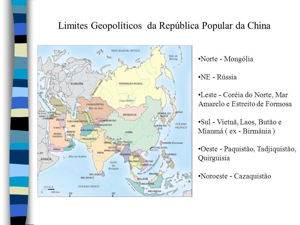 Limites Geopolíticos da República Popular da China
