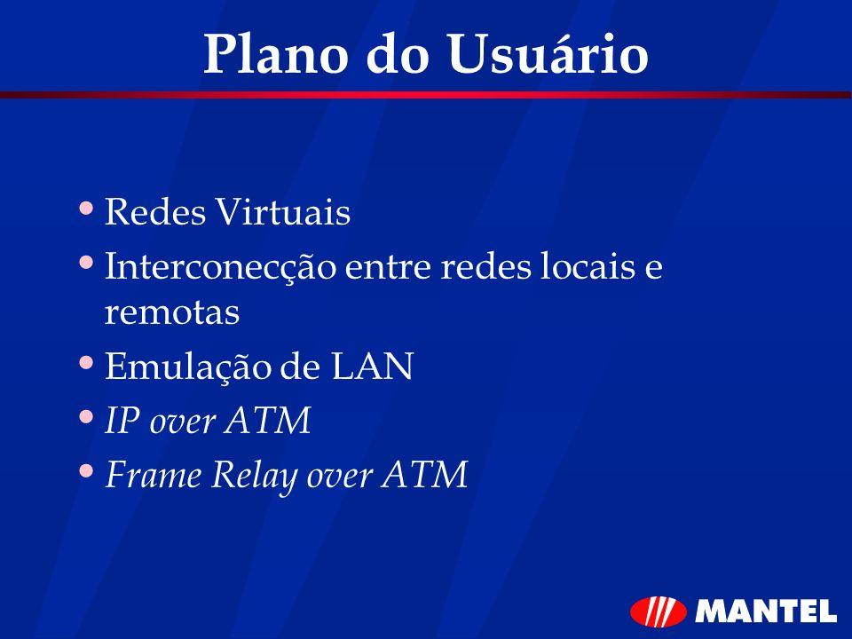 Plano do Usuário Redes Virtuais