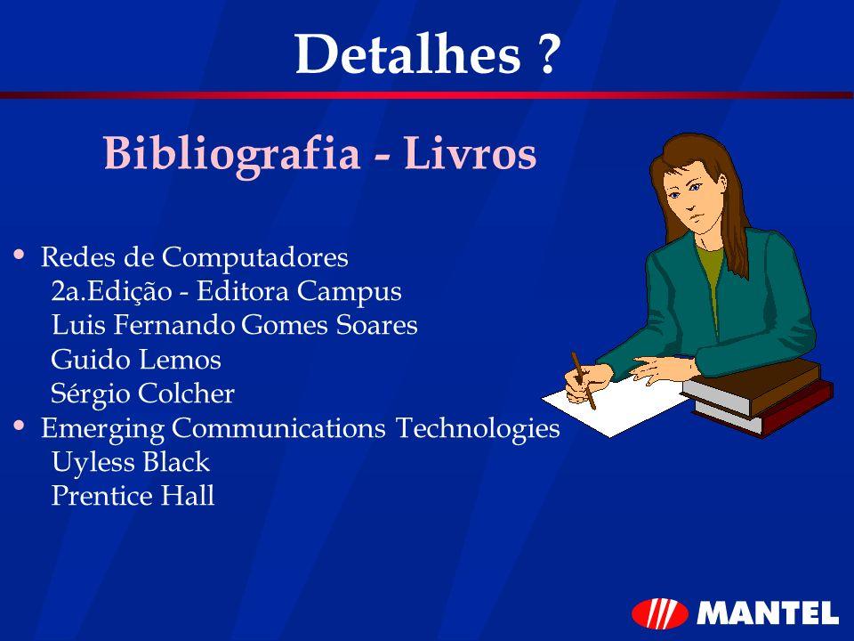 Detalhes Bibliografia - Livros Redes de Computadores