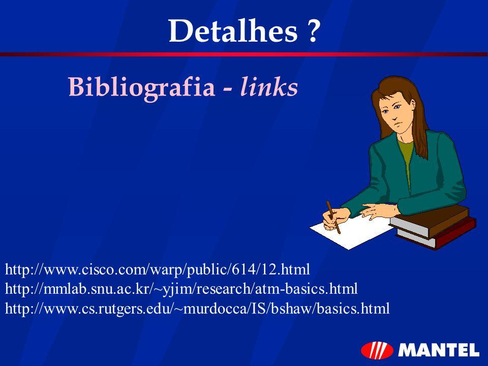 Detalhes Bibliografia - links