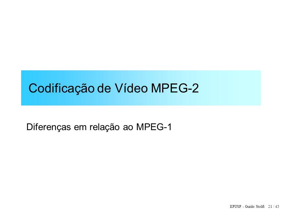 Codificação de Vídeo MPEG-2