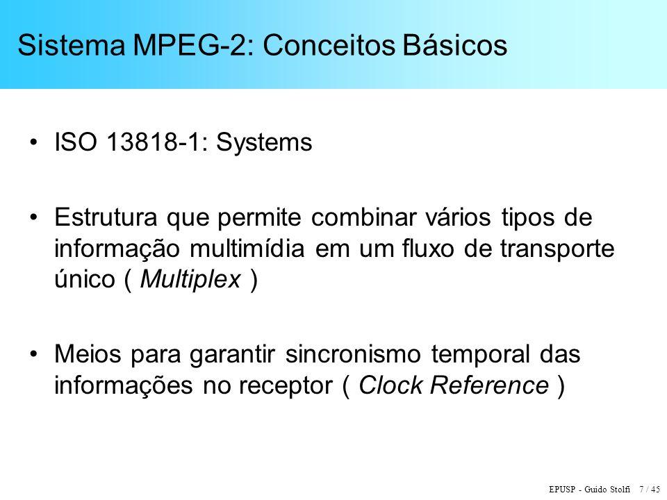 Sistema MPEG-2: Conceitos Básicos