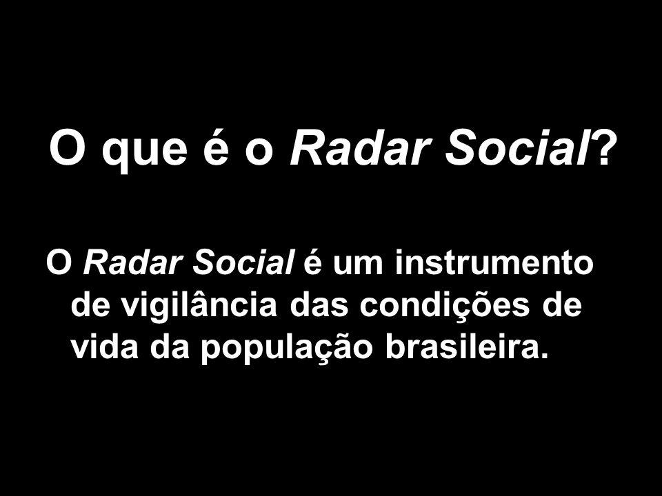 O que é o Radar Social.