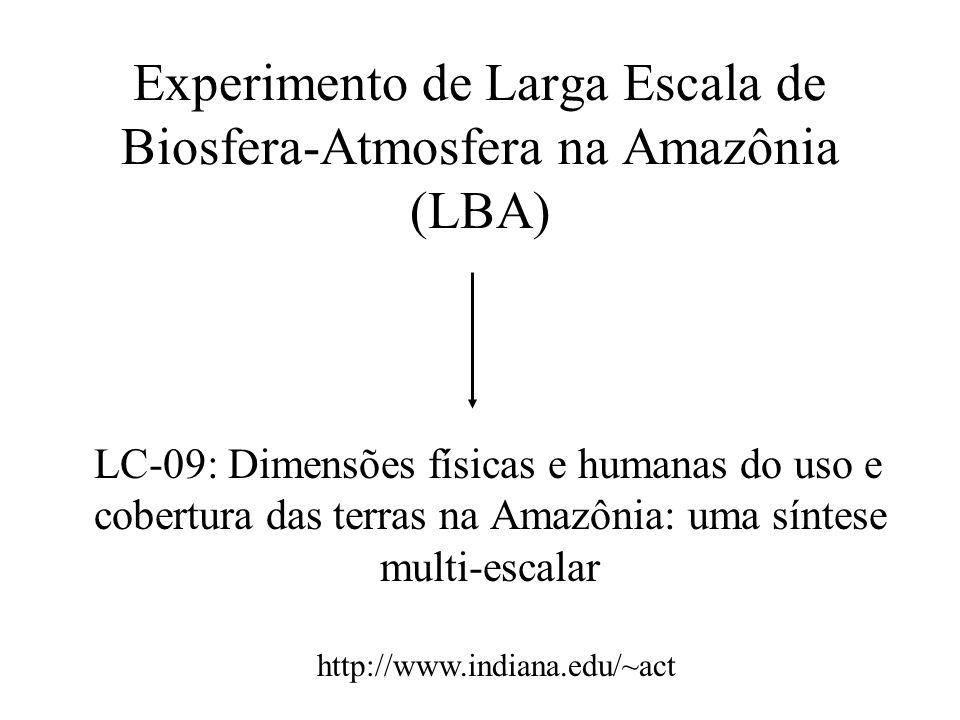 Experimento de Larga Escala de Biosfera-Atmosfera na Amazônia (LBA)