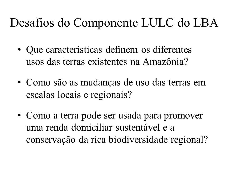 Desafios do Componente LULC do LBA