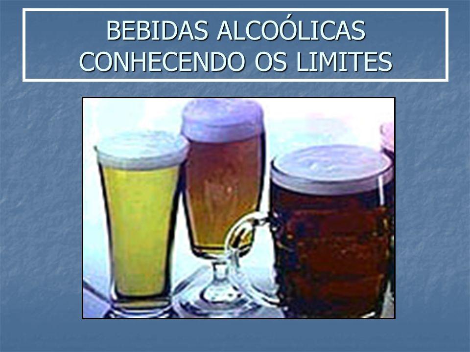 BEBIDAS ALCOÓLICAS CONHECENDO OS LIMITES