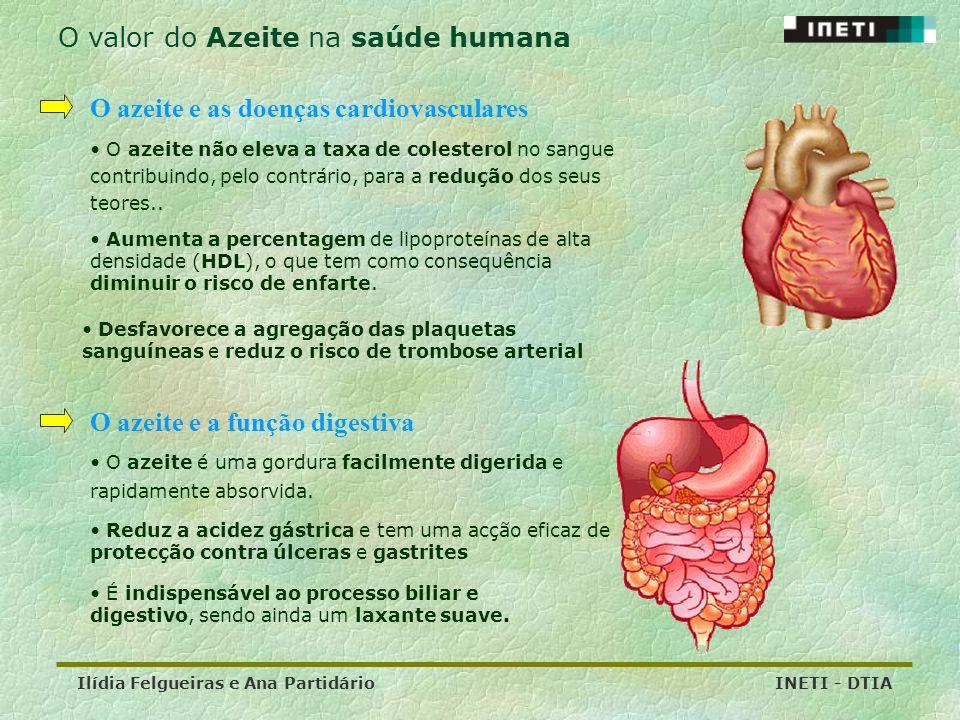 O valor do Azeite na saúde humana