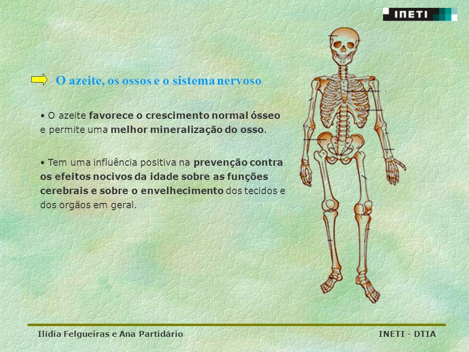 O azeite, os ossos e o sistema nervoso