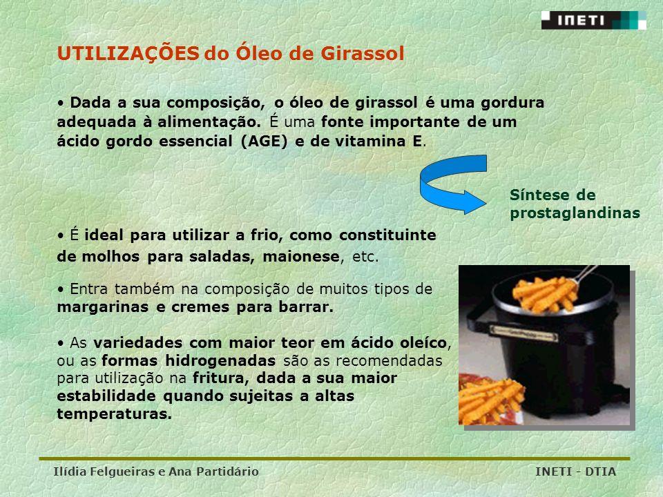 UTILIZAÇÕES do Óleo de Girassol
