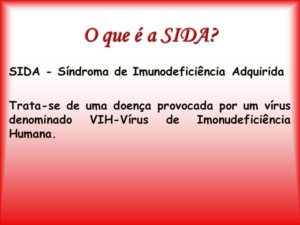O que é a SIDA SIDA - Síndroma de Imunodeficiência Adquirida
