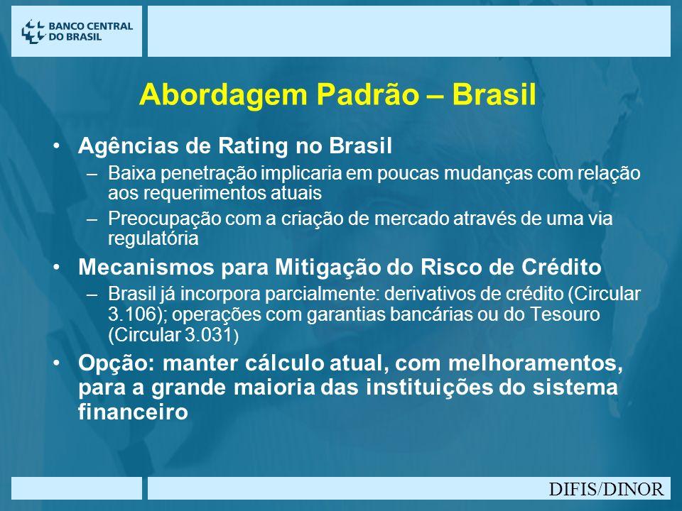 Abordagem Padrão – Brasil