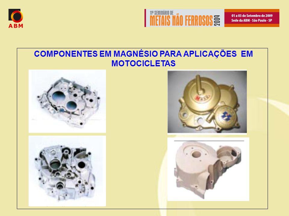 COMPONENTES EM MAGNÉSIO PARA APLICAÇÕES EM MOTOCICLETAS