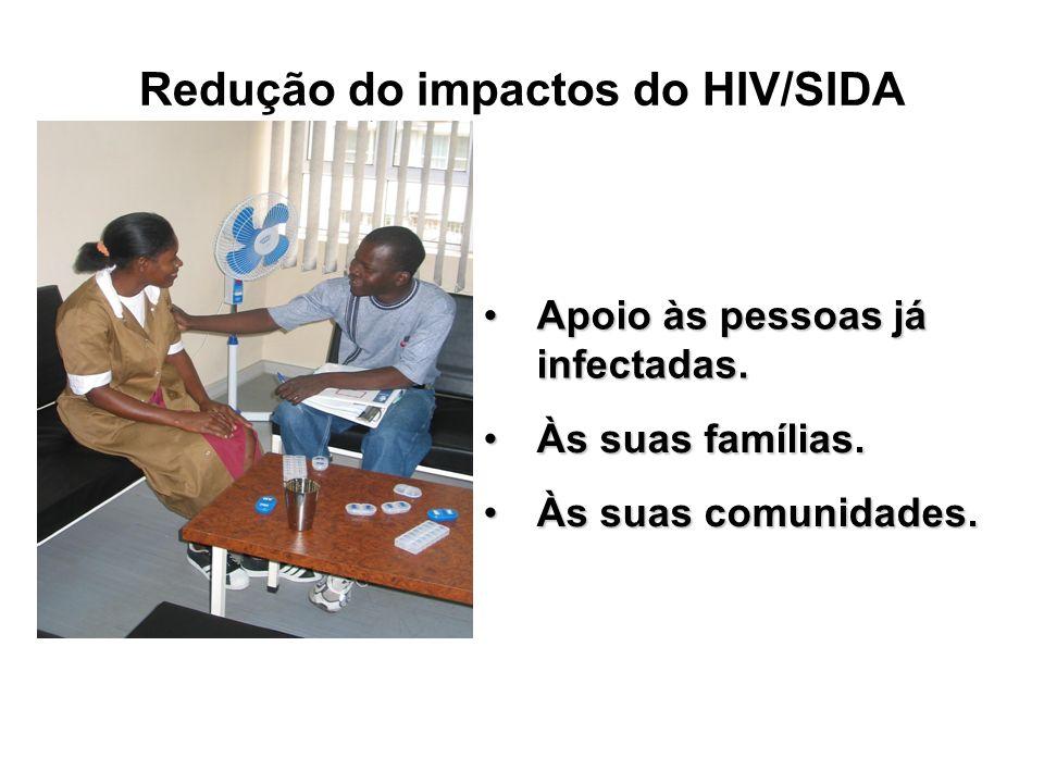 Redução do impactos do HIV/SIDA