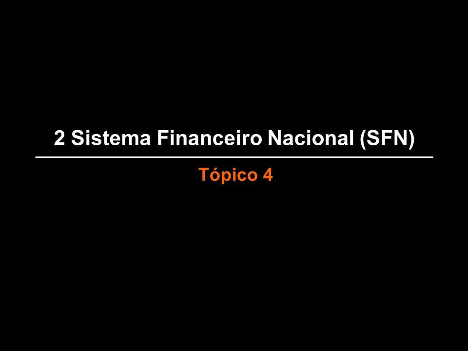 2 Sistema Financeiro Nacional (SFN)