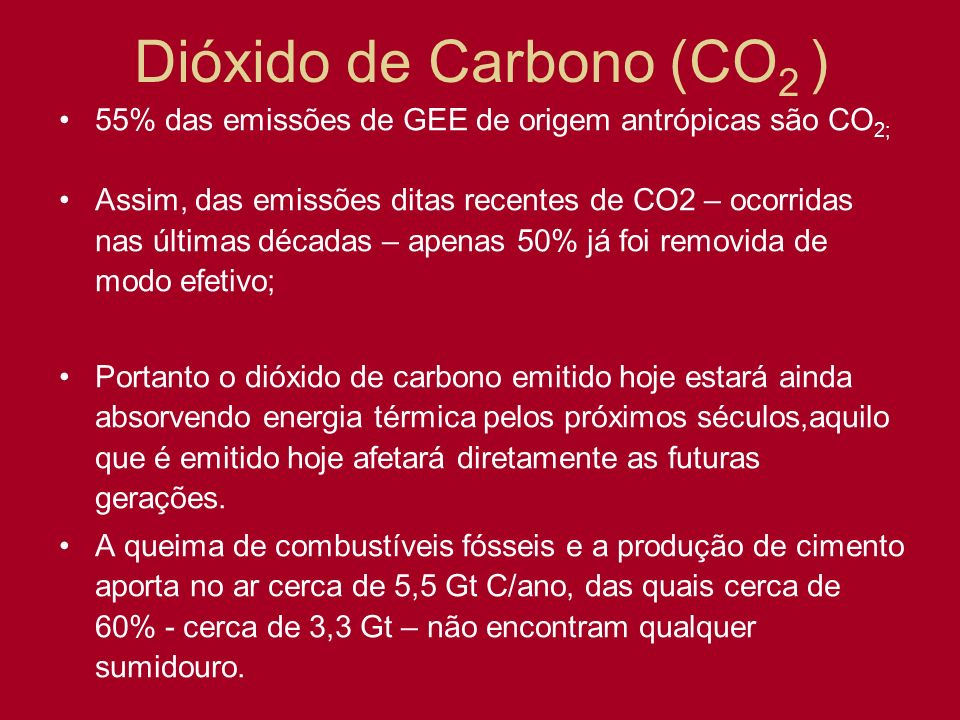 Dióxido de Carbono (CO2 )