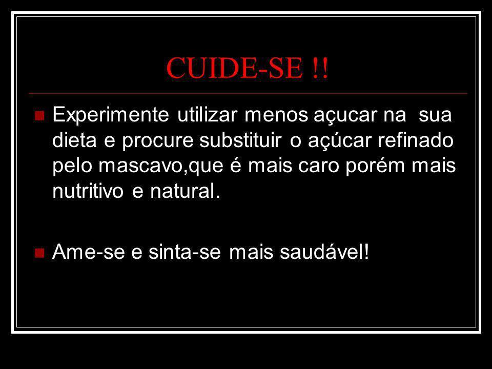 CUIDE-SE !!