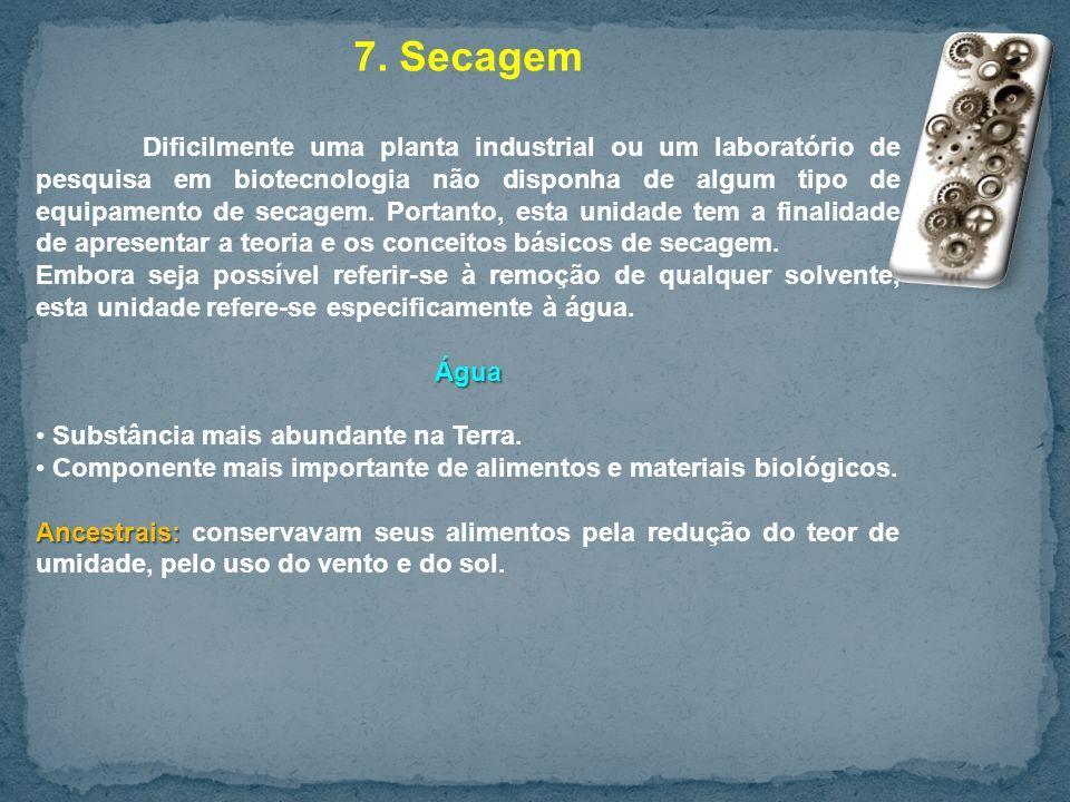 7. Secagem