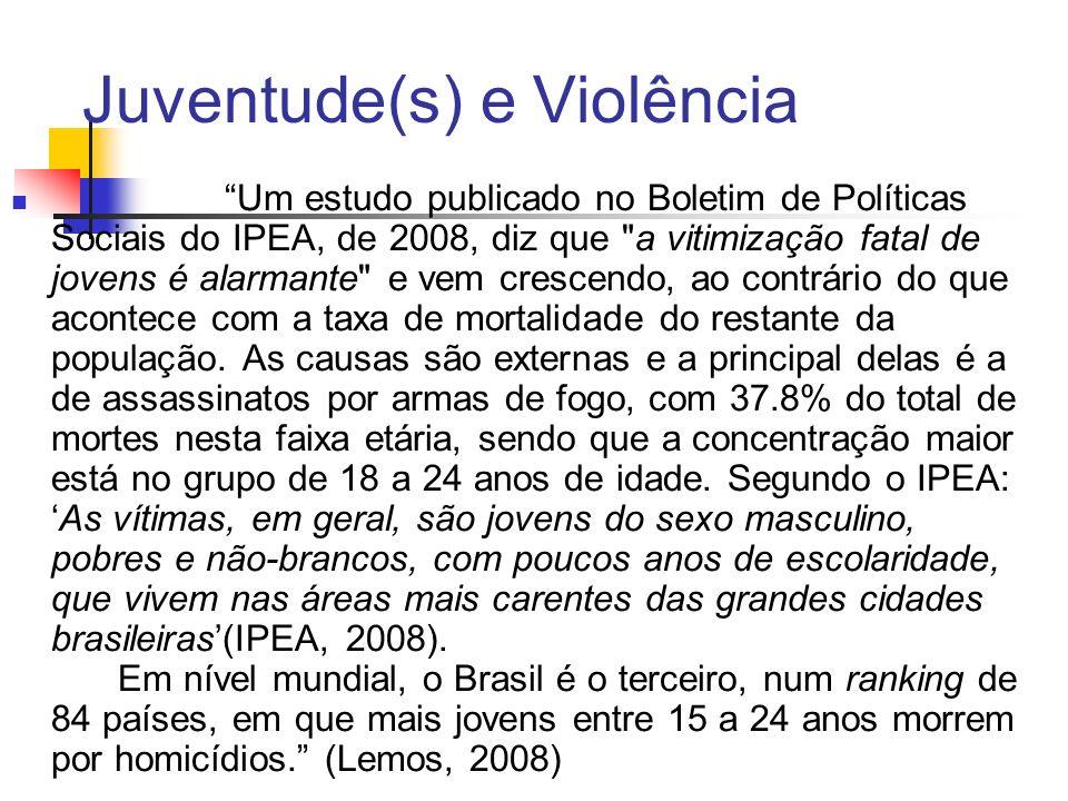 Juventude(s) e Violência
