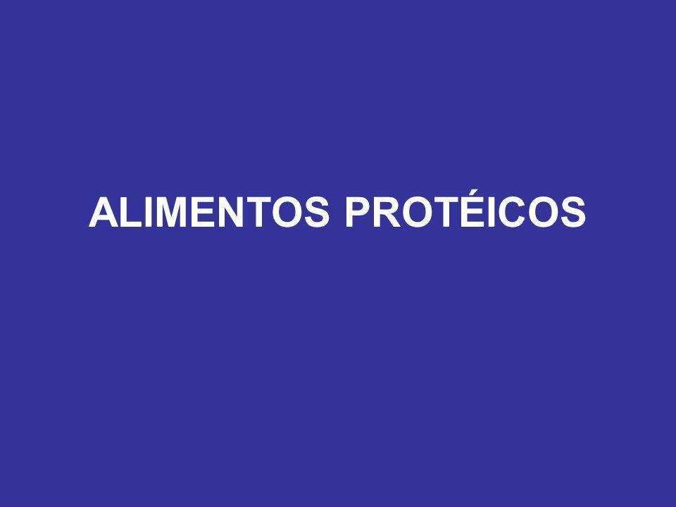 ALIMENTOS PROTÉICOS
