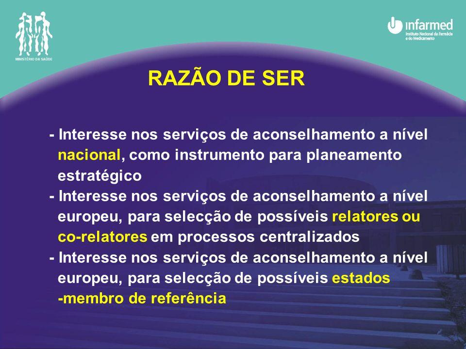 RAZÃO DE SER