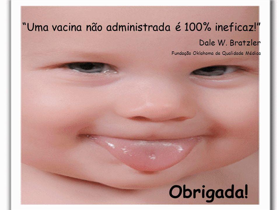 Obrigada! Uma vacina não administrada é 100% ineficaz!