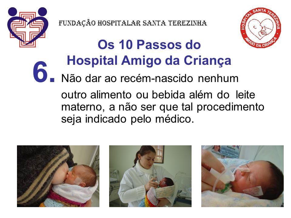 Os 10 Passos do Hospital Amigo da Criança