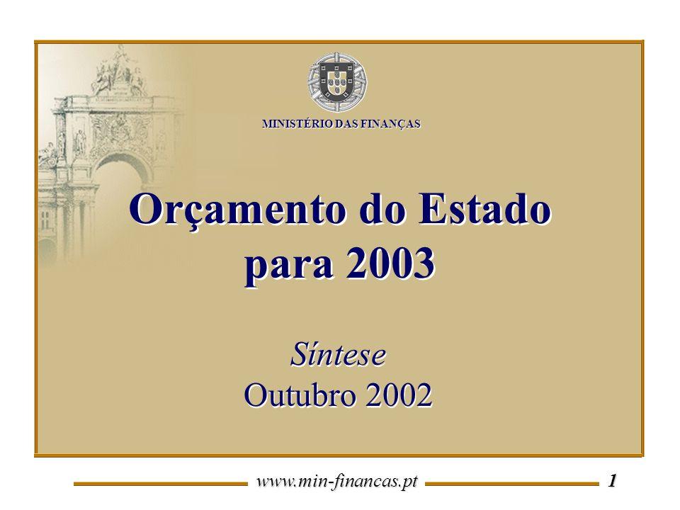 Orçamento do Estado para 2003