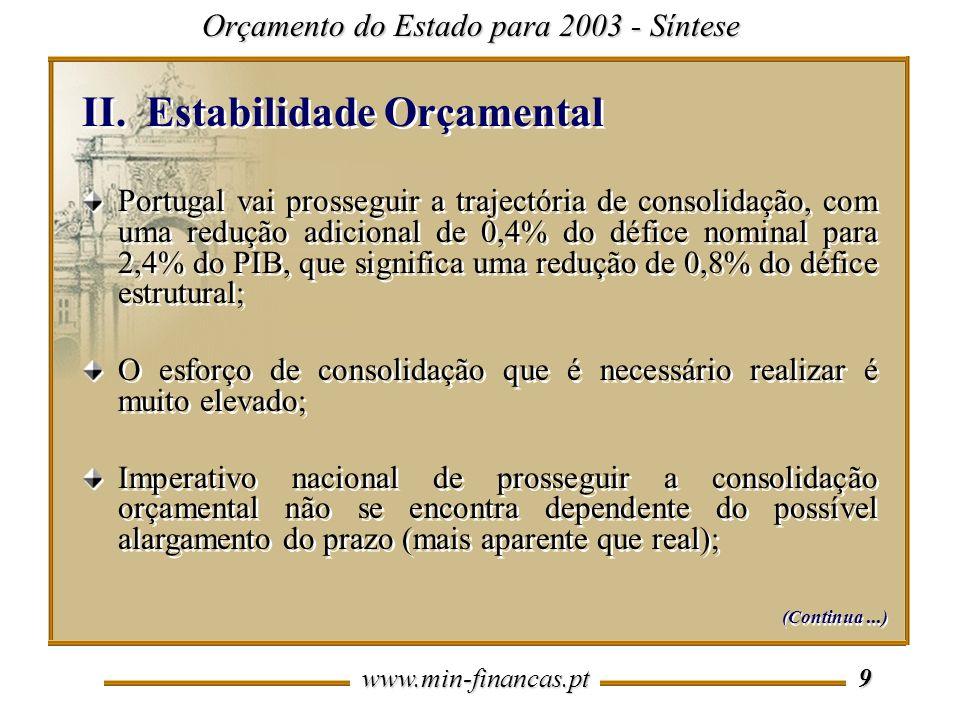 Estabilidade Orçamental