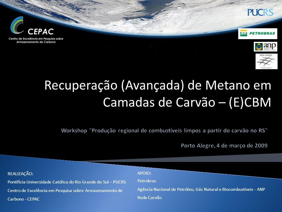Recuperação (Avançada) de Metano em Camadas de Carvão – (E)CBM