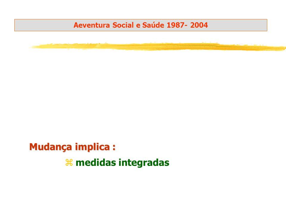 Aeventura Social e Saúde 1987- 2004