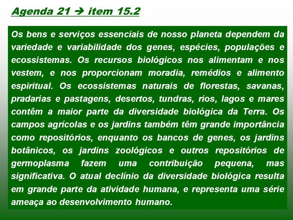 Agenda 21  item 15.2