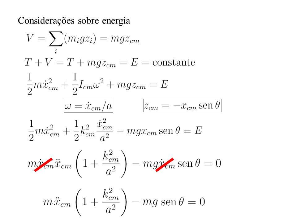 Considerações sobre energia