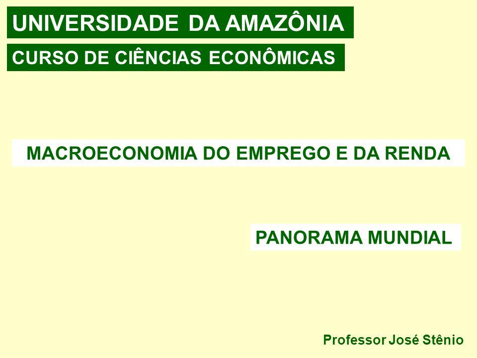 MACROECONOMIA DO EMPREGO E DA RENDA