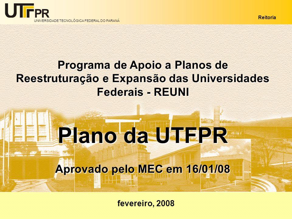 Programa de Apoio a Planos de Reestruturação e Expansão das Universidades Federais - REUNI