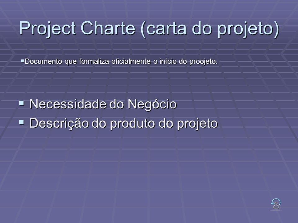 Project Charte (carta do projeto)