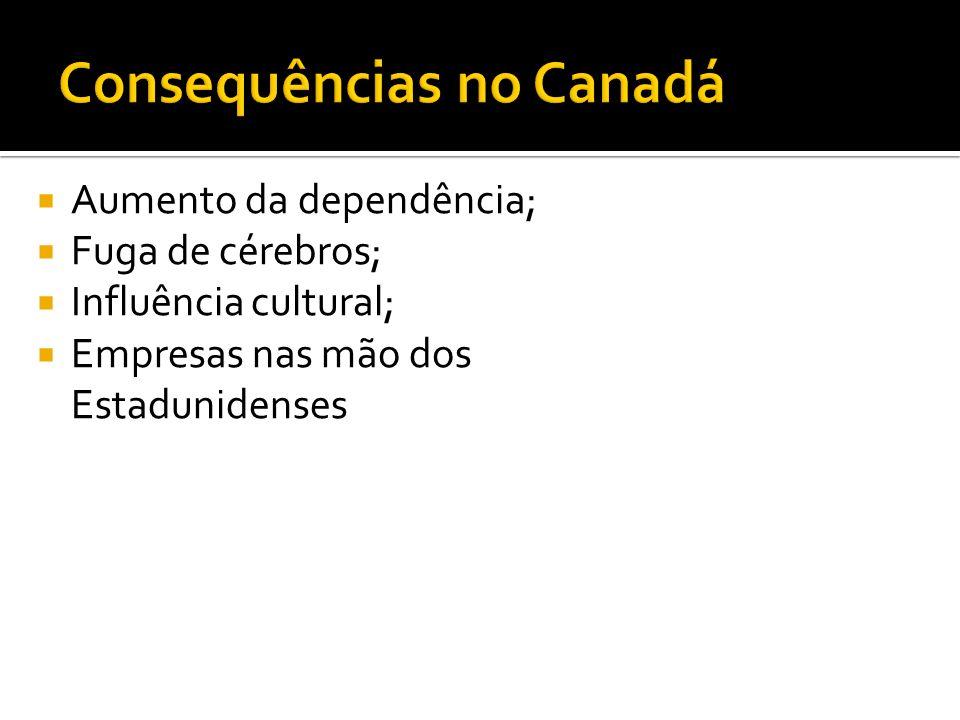 Consequências no Canadá