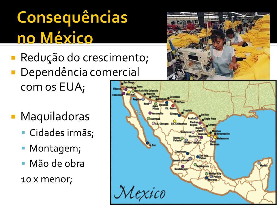 Consequências no México