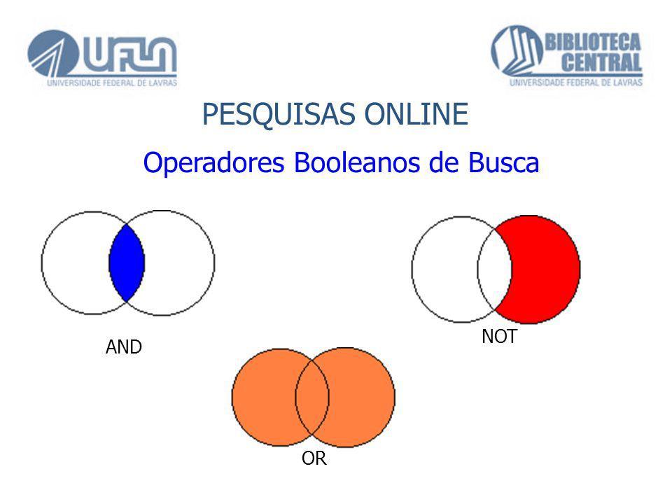 Operadores Booleanos de Busca