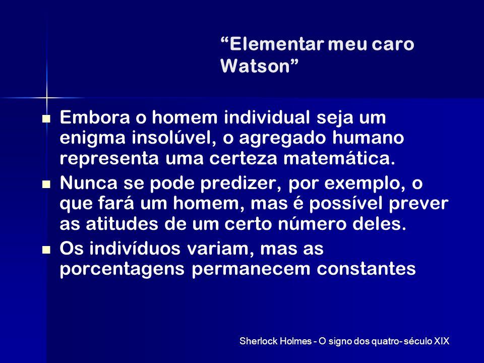 Elementar meu caro Watson