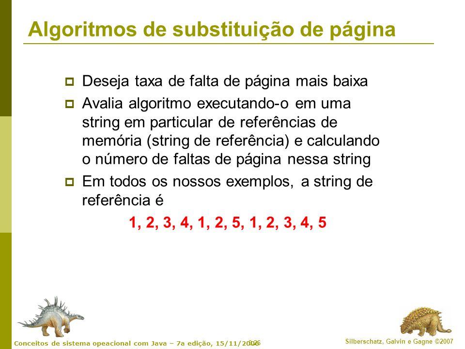 Algoritmos de substituição de página