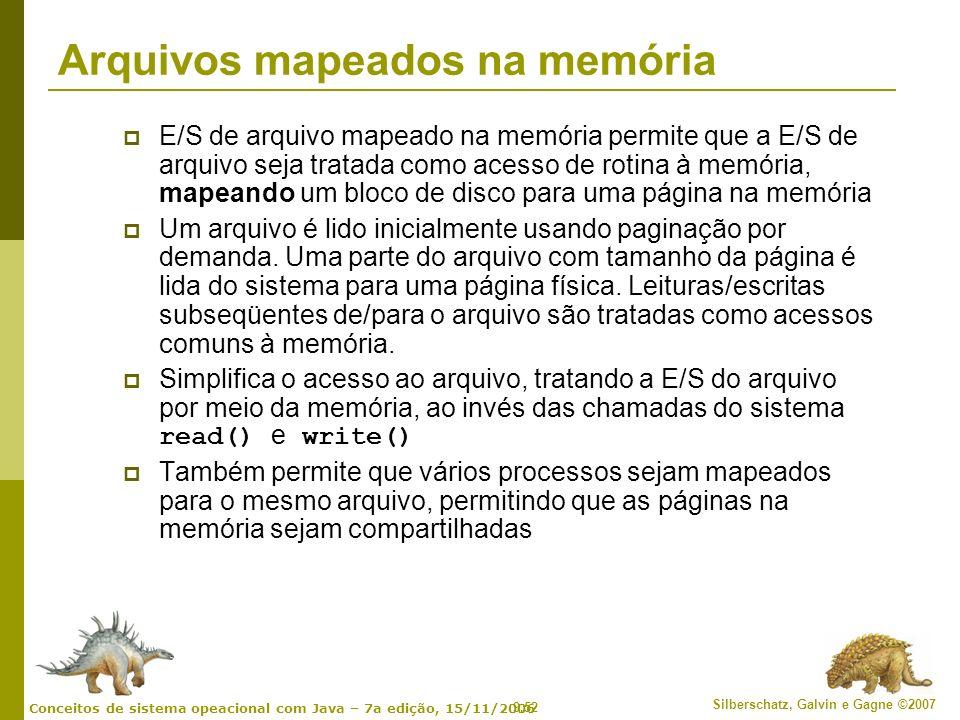 Arquivos mapeados na memória