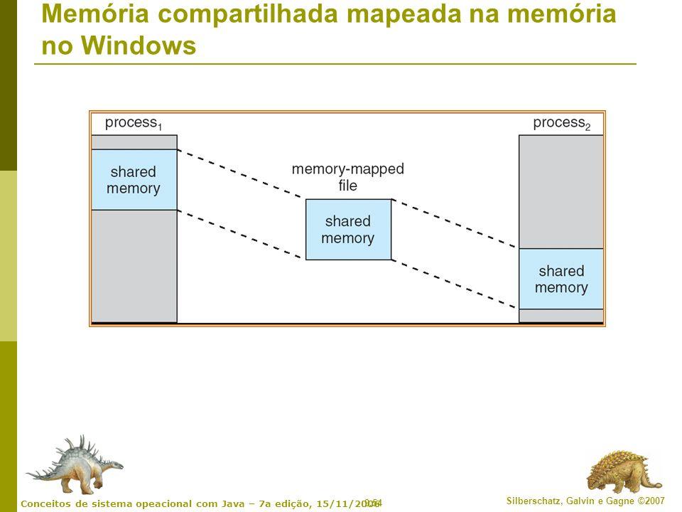 Memória compartilhada mapeada na memória no Windows