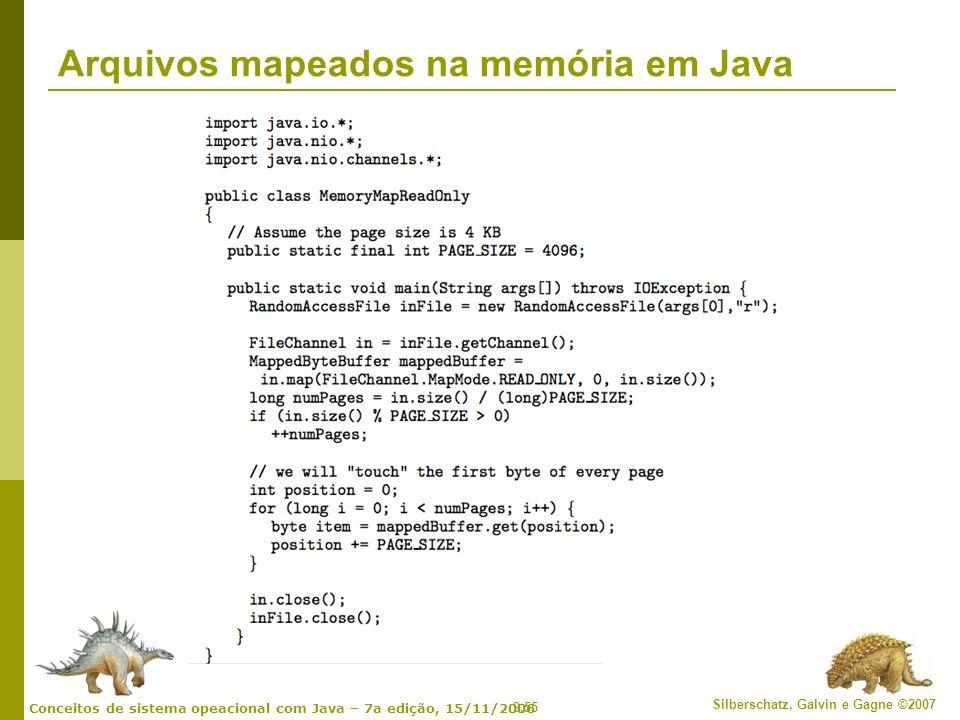 Arquivos mapeados na memória em Java