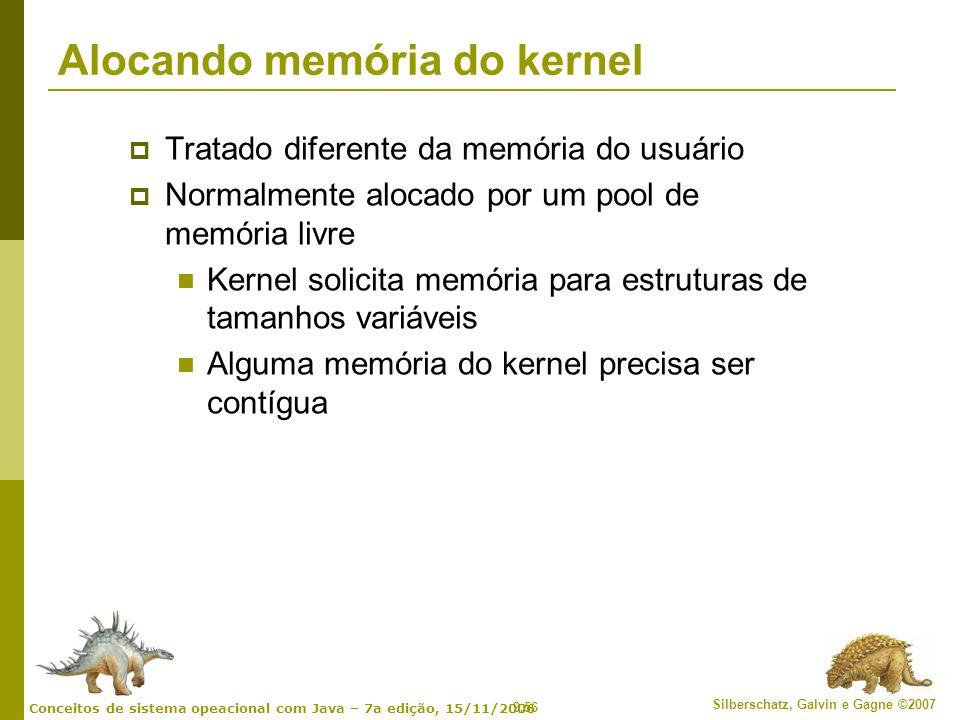 Alocando memória do kernel
