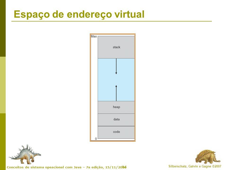 Espaço de endereço virtual