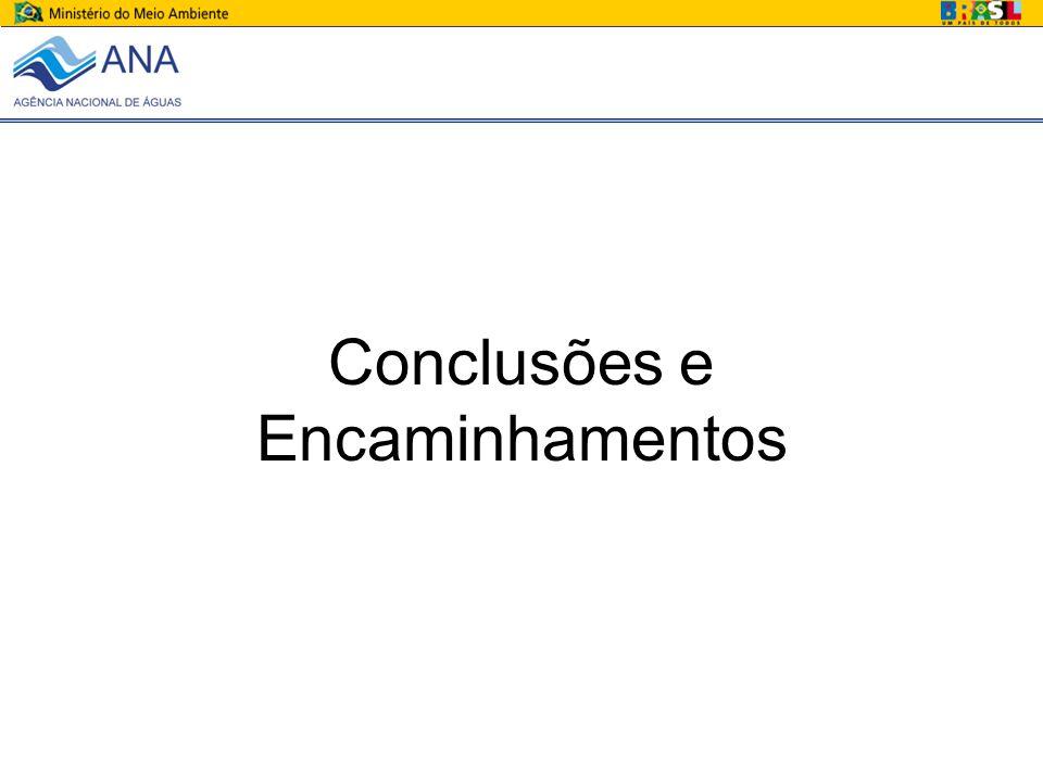Conclusões e Encaminhamentos