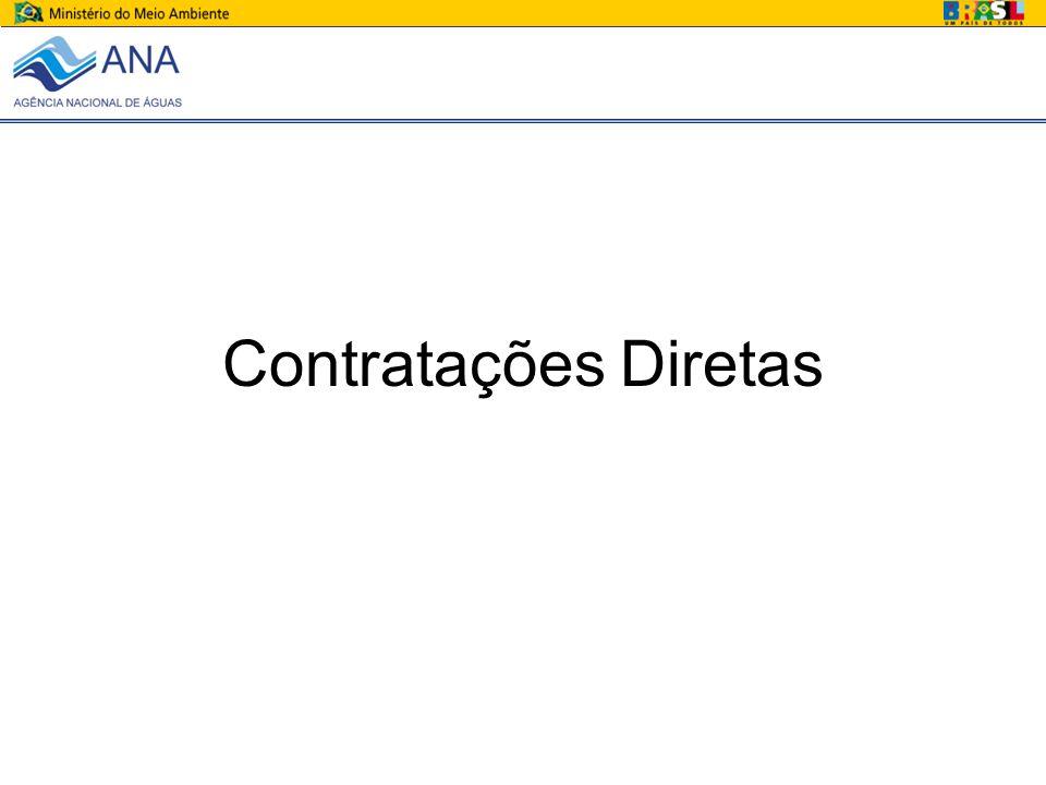 Contratações Diretas