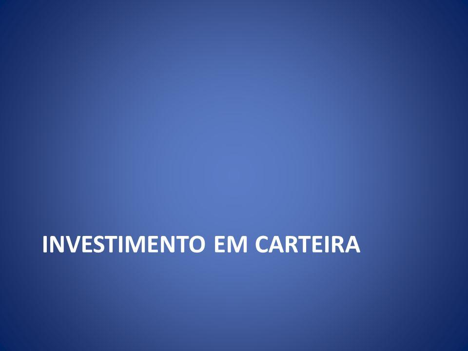 Investimento em carteira