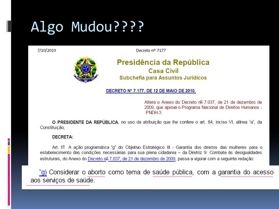 Algo Mudou