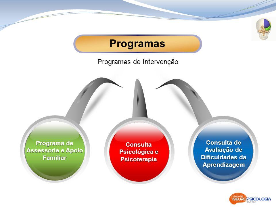 Programas Programas de Intervenção